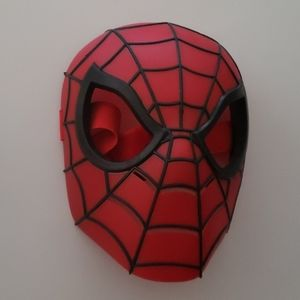 Spider man mask used once age 3 till 10 (Box A)